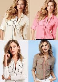secret blouses s secret the silk shirt buttowdown in lilac w white