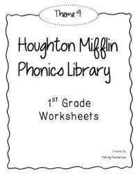 houghton mifflin phonics library 1st grade theme 9 worksheets