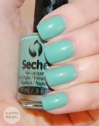 a little polish seche nail lacquer perfectly poised collection