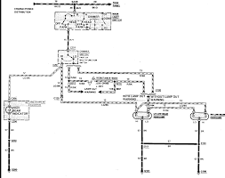 Early Bronco Wiring Diagram 1987 Bronco Ii The Headlights Parking Lights Interior Fuse Panel