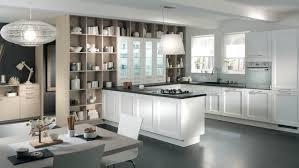 cuisine ouverte sur salle à manger plan de cuisine ouverte cuisine u ouverte salle manger blanche plan