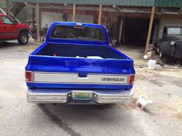 1984 chevy pick up custom paint house of colors cobat candy blue