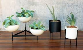 Planter With Legs by Air Clay Planter U2013 Red House West