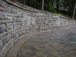 ct retaining wall installation hydroseeding u0026 erosion control