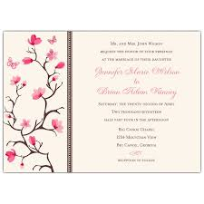 cherry blossom wedding invitations cherry blossom dots wedding invitations paperstyle