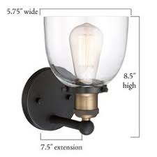 cordelia lighting 1 light artisan bronze wall sconce radionic hi tech orly satin nickel led sconce ls