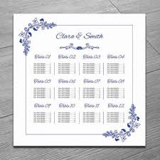 wedding seat chart template best wedding seating chart template products on wanelo