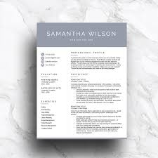 contemporary resume format 05052017 modern resume template for