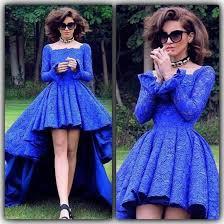 dress royal blue evening dresses long sleeves evening dresses