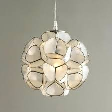Capiz Light Pendant Capiz Pendant Chandelier Capiz Shell Pendant Lighting Pinkfolio