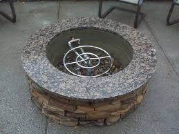 Firepit Top Luxury Gas Pit Ring Insert Pit With Veneer And