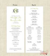wedding program kits do it yourself wedding program idea went to a wedding not log ago and the