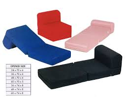 Folding Cushion Bed Futon Chair Cushion Bm Furnititure