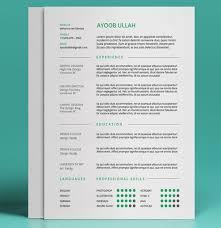 free cool resume templates material design resume cv portfolio by
