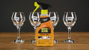 how to remove stickers from glass goo gone