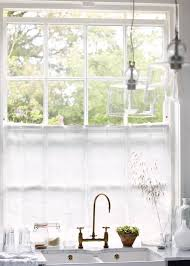 Cottage Kitchen Curtains by 43 Best Cafe Curtains For Kitchen Images On Pinterest Cafe