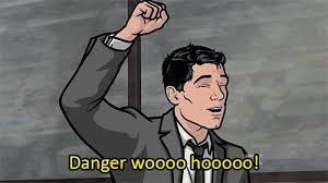 Archer Danger Zone Meme - woodhouse archer tumblr