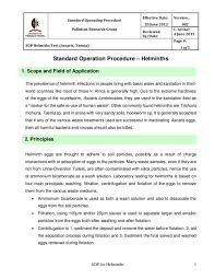 why sop is used pest control program sop template pest control