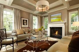 Colonial Farmhouse Traditional Living Room Minneapolis By - Colonial living room design