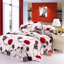 Queen Size Red Comforter Sets Red White Comforter Sets 3076