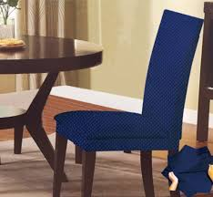 amazon com sally textiles monica chair cover blue home u0026 kitchen