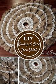 best 25 rustic tree skirts ideas on burlap