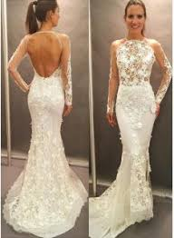 wedding dress search product search lace mermaid wedding dress open back buy high