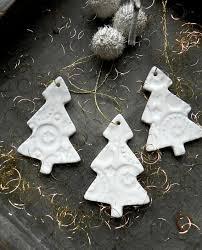 white tree ornaments lace ceramic home decoration