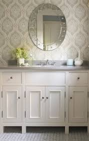 wallpaper for bathroom ideas bathroom wallpaper ideas st barts wallpaper in navy on white from