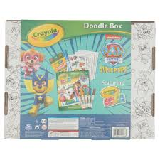 washable paint for walls crayola color wonder paw patrol superpups doodle box art kit