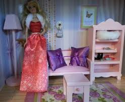 barbie home decor free barbie doll house diorama bed furniture home decor accessories