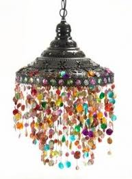 Colored Glass Pendant Lights Stained Glass Hanging Pendant Lamp Foter