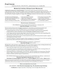 clinical manager resume clinical program manager resume operations manager resume sle