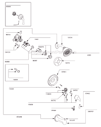 moen kitchen faucets repair parts moen t2442cp parts list and diagram ereplacementparts com