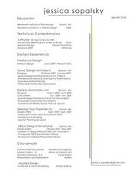 Resume For Interior Design Internship Assistant Interior Design Intern Resume Template Interior