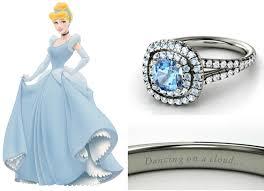 cinderella engagement ring marca de joias lança alianças inspiradas nas princesas disney