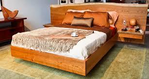 live edge bed by berkeley mills