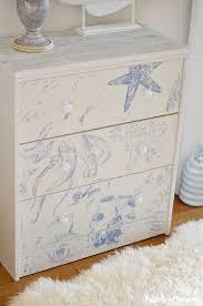 Coastal Cottage Furniture Ikea Rast Hack Transform A Basic Dresser To Beach Cottage Style