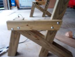 Free Plans For Garden Chair by Handymanusa Building A Garden Bench