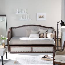 best table designs daybeds lovely white and brown frame daybeds kmart with trundle