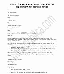 Confirmation Extension Letter Format letter format to income tax department for demand notice ca club