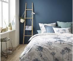 chambre bleu horizon choisir le bon mur à peindre et ou à décorer dans la pièce