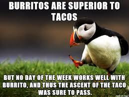 Taco Tuesday Meme - taco tuesday meme on imgur