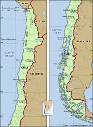 chile physical map chile history geography britannica
