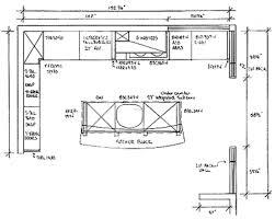 designing a kitchen floor plan home design