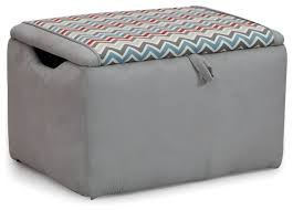 Upholstered Storage Bench Zoom Zoom Suede Upholstered Storage Bench Contemporary Kids