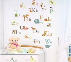 large alphabet wall stickers todosobreelamor info large alphabet wall stickers alphabet letters wall stickers a to z animals decor decal large