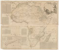 Ancient Map Of Africa by Old Maps