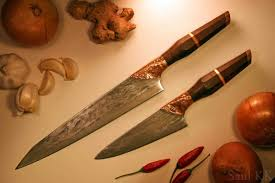james martin kitchen knives gyuto and funayuki damascus kitchen knives show and tell