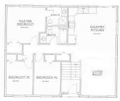 open concept house plan one story cool plans home design ideas